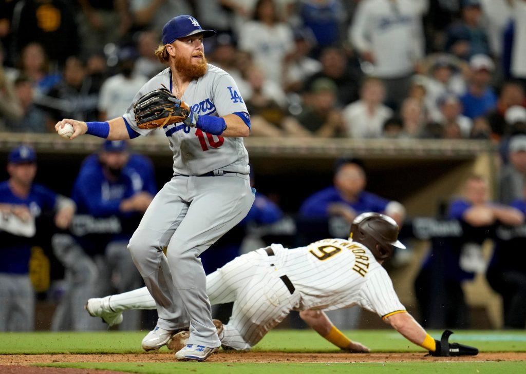 Dodgers' Justin Turners vs Padres