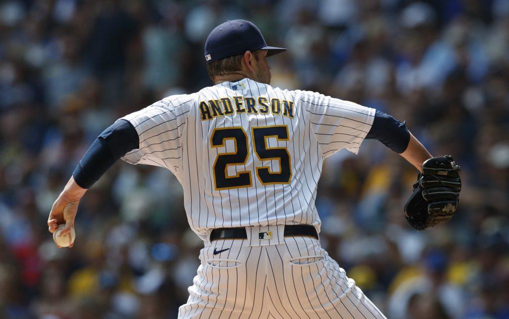 Brett Anderson Brewers