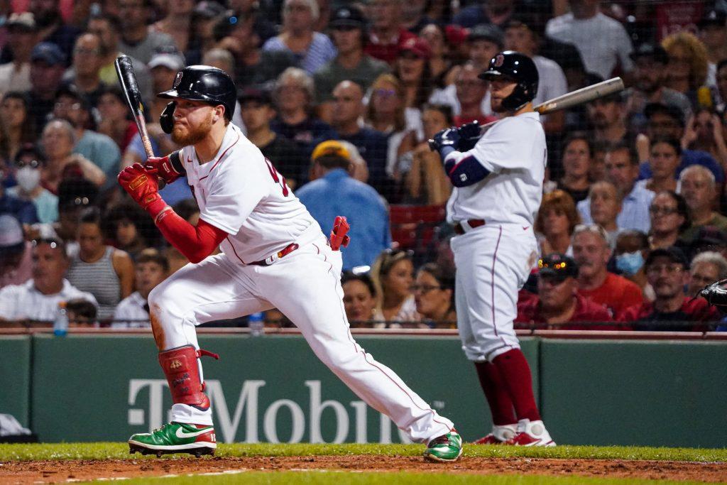 Alex Verdugo Red Sox vs Indians
