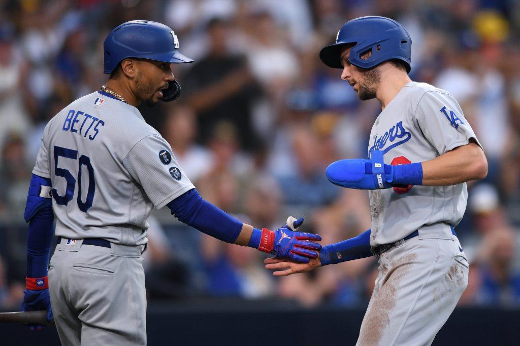 Corey Seager Rockies vs Dodgers