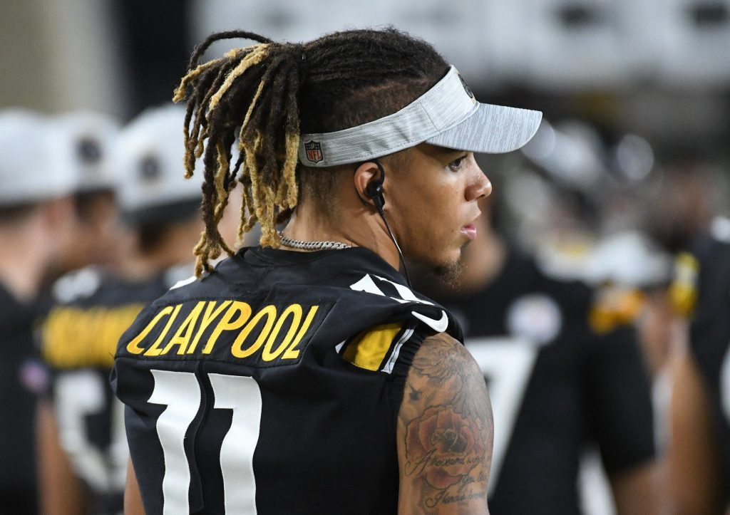 Chase Claypool NFL underdog