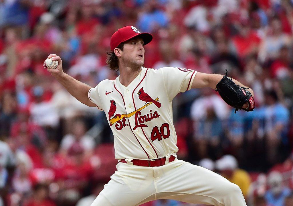 Jake Woodford Dodgers vs Cardinals